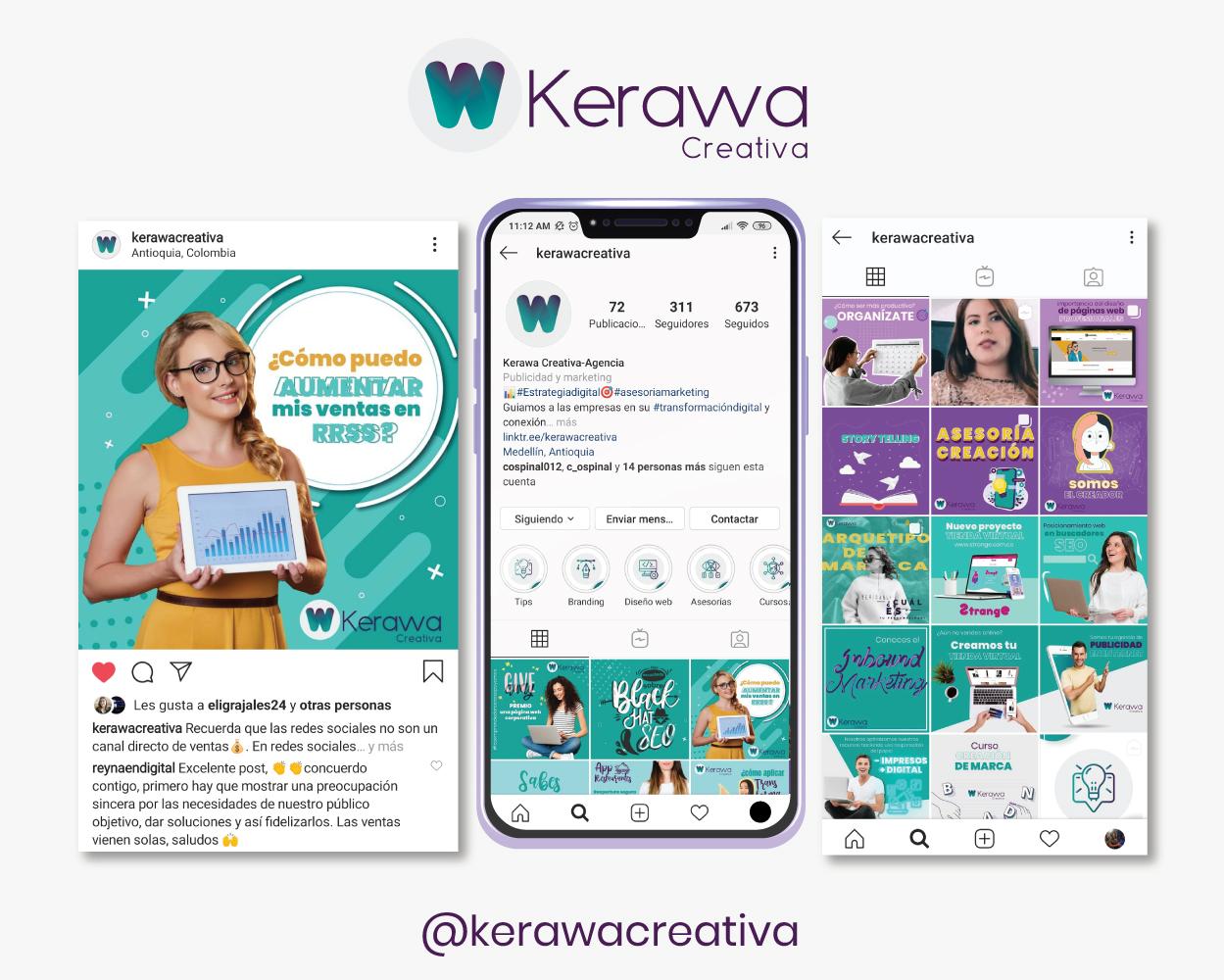 redes sociales kerawa