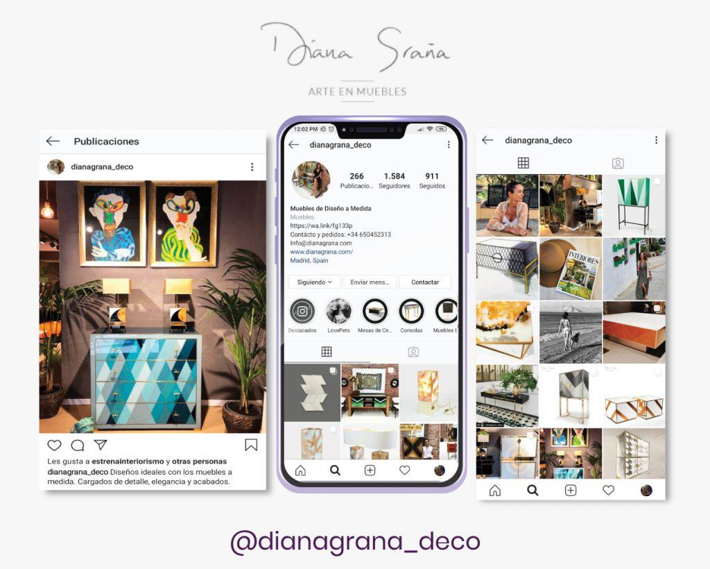 Redes sociales Diana graña